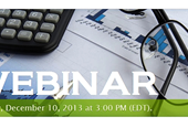 Webinar: Prepare Now for Your 2013 Small Business Tax Returns