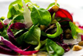 Recipes for Health: Mâche and Radicchio Salad With Beets and Walnut Vinaigrette