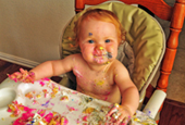 Let Them Throw Cake: Messy Kids May Be Faster Learners