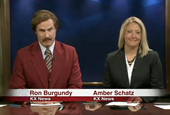 Ron Burgundy Co-Anchors an Actual Local News Broadcast in Bismarck, N.D.