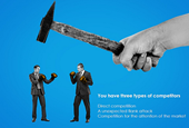 Be Warned: You Have Three Types of Competitors