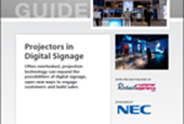 Projectors in Digital Signage