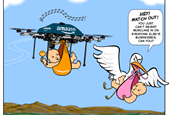 Amazon Drones On (Comic)