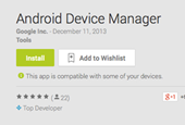 Android Device Manager now available for your downloading pleasure on Google Play