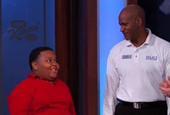 NBA Usher and Little Kid Escalate Epic Dance Battle on 'Kimmel'