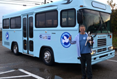 Blue Bird Donates Bus to Build Momentum for 'One Million Acts of Kindness'