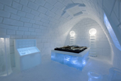 New Art Suite for ICEHOTEL by PINPIN Studio