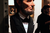 Spotted in LA: The Incredible Hyper-Realistic Sculpture of Abraham Lincoln